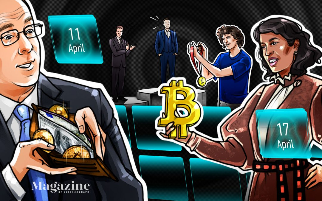 Coinbase frenzy, DOGE dazzles, Bitcoin breaks records, Jim Cramer sells: Hodler's Digest, April 11–17