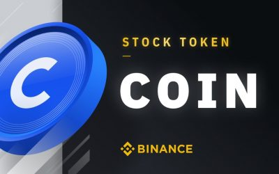 Binance lista lo stock token di Coinbase (COIN)