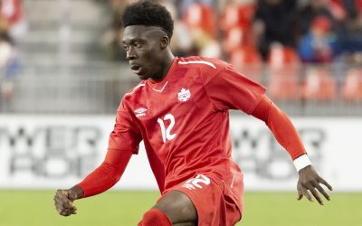 Binance: Alphonso Davies' NFTs coming soon